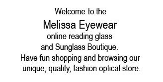 welcome to Melissa Eyewear