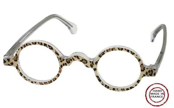 GLA-3 European Eyglasses, Small Round Shaped, Classic Look