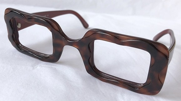40a6846c587 ... Made in France Square Eyeglass Frame Unique Design. ME-305