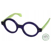 ME-27 European Eyeglasses, Large,Round & Bold ,Top Of The Line
