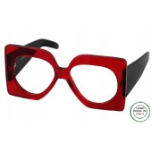 ME-315 ,European Eyeglasses , Very Large Square, Top Of The Line