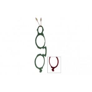 Olive/ Burgundy