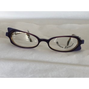 ME-78 Women Eyeglass Frame, Unique Shape, Made In France